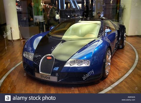 Bugatti Veyron In A Showroom In Berlin Germany Stock Photo