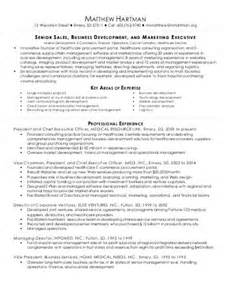 Sales Business Development Resume
