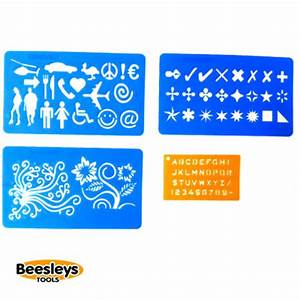 Beesleys tool shop uk main dealer for veto pro pac for Engraving letter templates