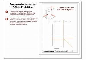 Technische Zeichnung Ansichten : 3 tafel projektion ~ Yasmunasinghe.com Haus und Dekorationen