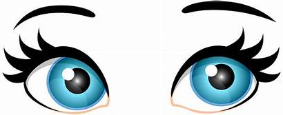 Eyes Clip Clipart Female Eye Looking Clipartmag