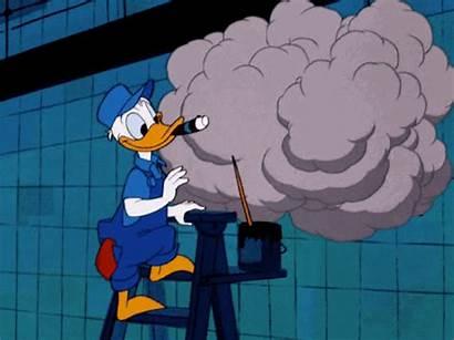 Smoking Duck Donald Smoke Disney Cigar Accident