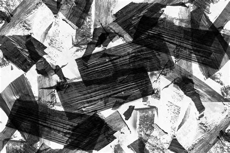 Abstract Paintings Black And White by Black And White Abstract 6 Desktop Background