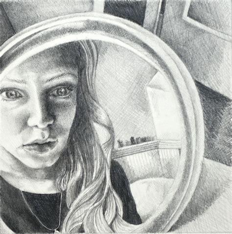 portrait   mirror  sophie radar art