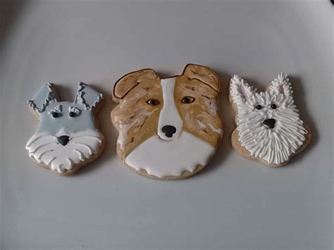 Decorated Dog Cookies