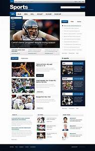 Sports News Website Template  35026