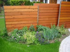 Garten Kiste Holz : sichtschutz im garten aus holz ~ Whattoseeinmadrid.com Haus und Dekorationen