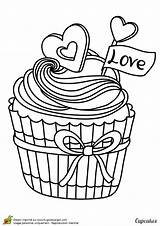 Coloring Cupcake Cream Ice Cupcakes Adult Pages Printable Coloriage Blank Colorier Drawing Sheets Un Skull Google Cake Books Valentine Dessin sketch template