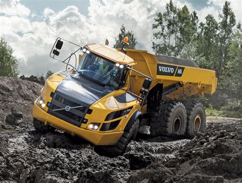 articulated dump truck showcase utility contractor magazine