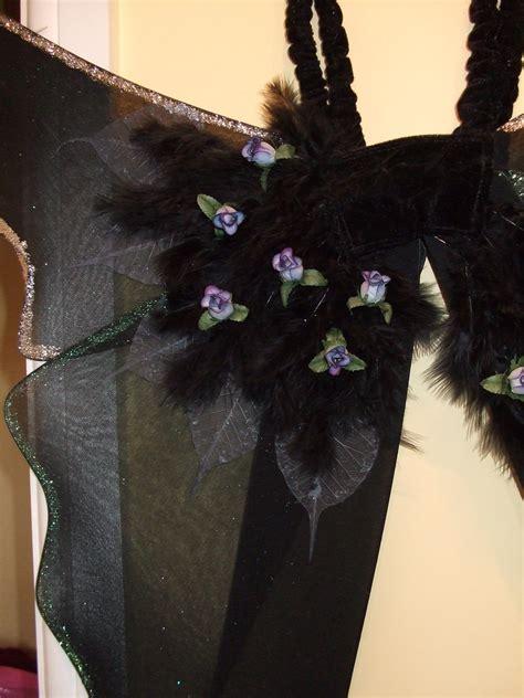 dark fairy wings     wing sewing  cut
