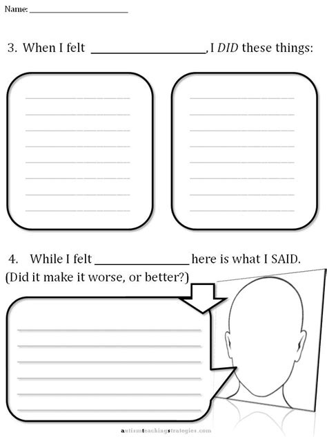Cbt Children's Emotion Worksheet Series 7 Worksheets For Dealing With Upsetting Emotions