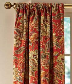 jacobean floral lined rod pocket curtains 1000 ideas about rod pocket curtains on