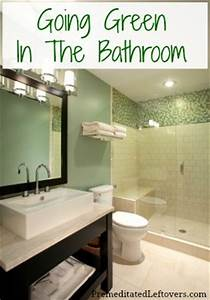 eco friendly tips for going green in the bathroom With natural way to go to the bathroom