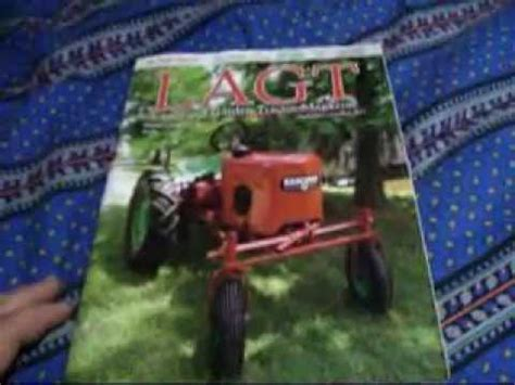 lawn and garden magazine magaizine review lawn garden tractor magazine lagt youtube