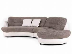 Eckcouch Mit Verstellbarer Sitztiefe : roma polsterecke sofa eckcouch ottomane rechts kunstleder wei stoff hellgrau ebay ~ Bigdaddyawards.com Haus und Dekorationen