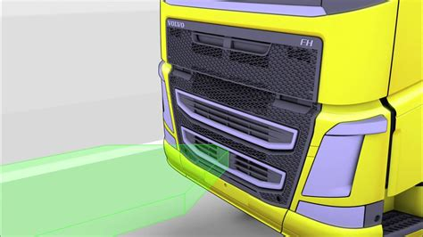 volvo trucks adaptive cruise control  safe distance