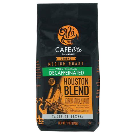 By san antonio current staff. Cafe Ole by H-E-B Houston Blend Decaf Medium Roast Ground ...