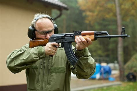 Cognate with dutch schieting, german erschießung (shooting), swedish skjutning (shooting). AK-47 Shooting in Prague for Stag Do's Parties | Vox Travel