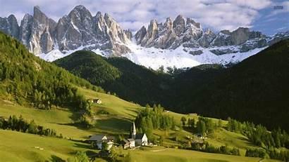 Alpine Wallpaperaccess Wallpapers Town
