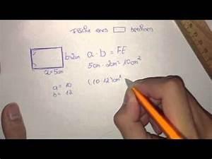 Gardinenbreite Berechnen : fl cheninhalt eines rechteck berechnen youtube ~ Themetempest.com Abrechnung