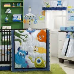monsters inc 4 premier crib bedding set disney baby