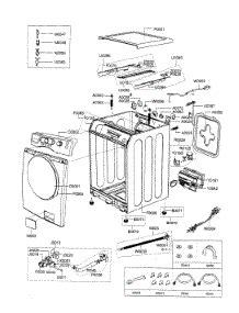 Parts For Samsung Wfaab Xaa Washer