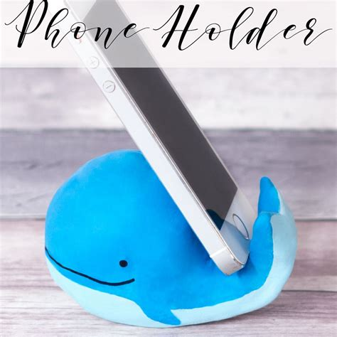 whale phone holder craft doodle  stitch