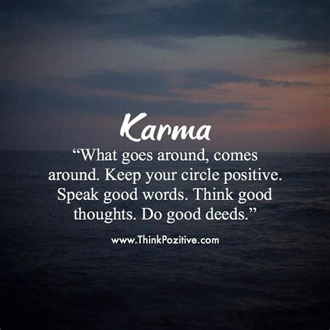 positive quotes karma