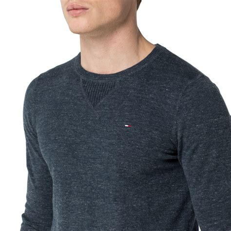 hilfiger sweater hilfiger ethan sweater in blue for lyst