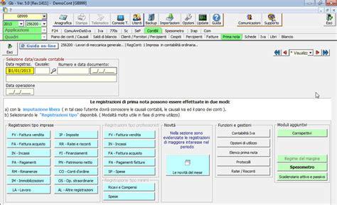 Contabilità Interna - software contabilit 224 per commercialisti integrato gb