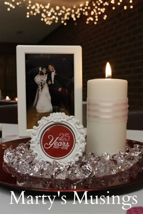 anniversary decorations vow renewal ideas