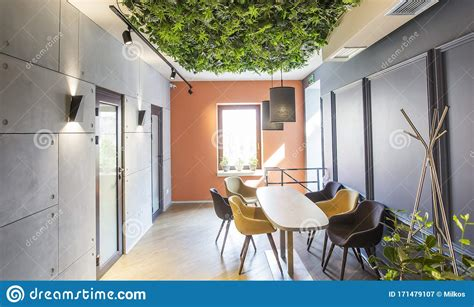 Our party tried the nutella pancakes and the peanut butter pancakes and were delighted with both. Cozy Corner In Empty Cafe Or Coffee Shop With Green Plants Ceiling Stock Image - Image of decor ...