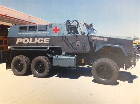 Marauder Armored Vehicle Cost by Why Did San Diego Unified Acquire An Armored Vehicle