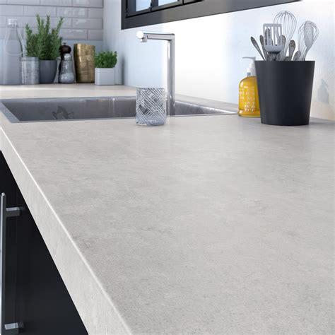 plan de travail en marbre pour cuisine plan de travail aggloméré blanc marbré mat l 246 x p 63 5