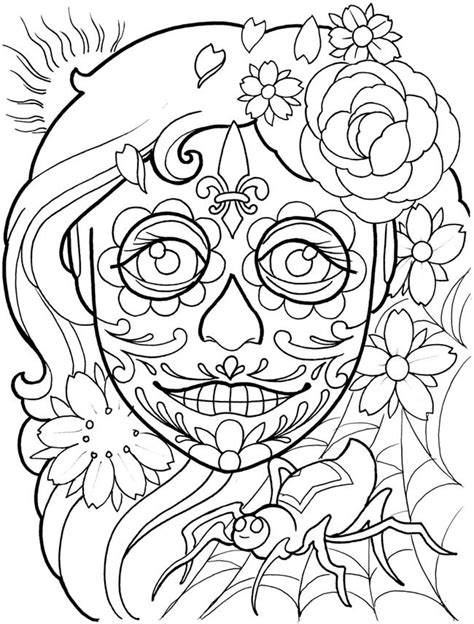 Pin by Tonya Matejka on Coloring Pages | Dover coloring pages, Tattoo coloring book, Adult