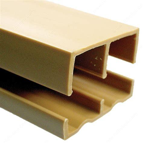 Plastic Sliding Cabinet Door Track by Plastic Track For 3 4 Quot Wood Sliding Doors Richelieu Hardware