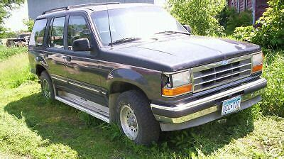 91 Ford Explorer by 91 Ford Explorer 4x4 Quot Many Parts Quot Ebay