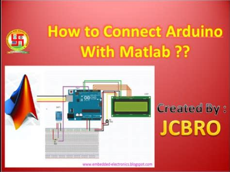 how to connect arduino with matlab youtube