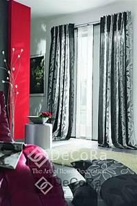 Rideau Double Voilage : voilages rideaux doubles occultant velours non feu m1 ~ Teatrodelosmanantiales.com Idées de Décoration