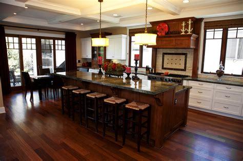 2 level kitchen island stylish kitchen with two tier kitchen island homesfeed