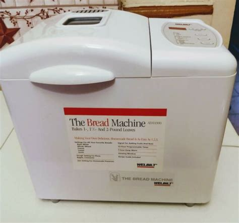 We did not find results for: Welbilt The Bread Maker Bread Machine Model ABM4900 1-2 LB Loaf Capacity | eBay