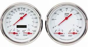 Omega Kustom Gauges Kool White Series