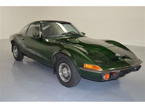 Opel For Sale by 1972 Opel Gt For Sale Classiccars Cc 888803