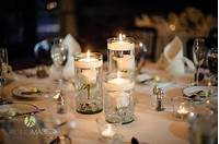 centerpieces with candles Floating Candle Centerpieces - Mon Cheri Bridals