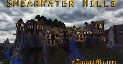 shearwater hills mountain village map minecraft pe map