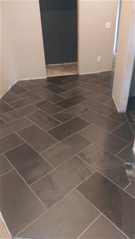 1000 ideas about slate tile floors on hallway