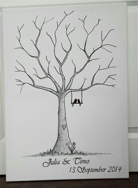 toller wedding tree guestbook gaestebuch auf ebay