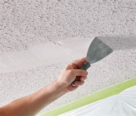 point  popcorn ceiling
