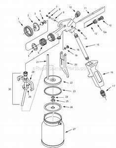 Hvlp Spray Gun Parts Diagram