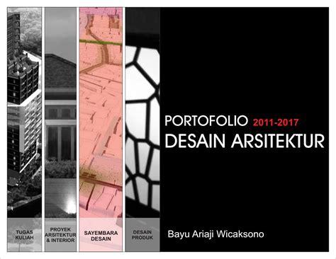 portofolio desain arsitektur  bayu ariaji wicaksono issuu